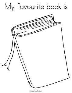 Free Book Cover Template for Kids - Tim's Printables | art ...