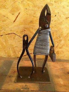 Mother and her child #upcycling #great #art #craft