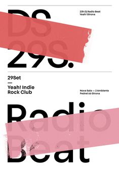 "poster"" by quim marin / spain / silkscreen Web Design, Book Design, Layout Design, Creative Design, Print Design, Graphic Design Posters, Graphic Design Typography, Graphic Design Illustration, Graphic Design Inspiration"