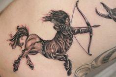3D sagittarius tattoo   tattoo 3D
