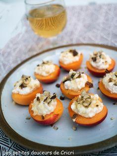 Abricots au brocciu et au miel, spécialité corse