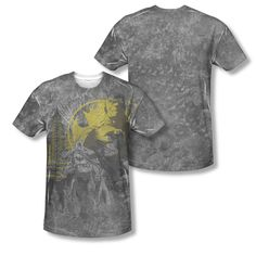 Batman The Dark Knight Bat Logo Gotham Sublimation ALL OVER Vintage T-shirt top  Available In Sizes:Small, Medium, Large, XL, 2XL #Batman #BruceWayne #TheDarkKnight #DCComics  #TheCapedCrusader #BatLogo #BatSymbol #BatSignal #JusticeLeague #GothamCity #BatmanTshirt