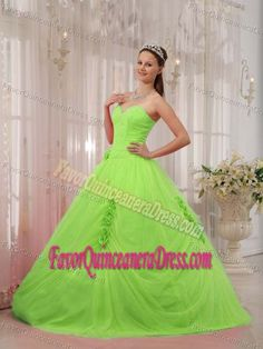 7fdc9b28114 Beautiful Lime Green Quinceanera Dresses with Sweetheart Tulle Beading  Dresses 2013