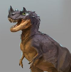 cerato rex, Jonathan Kuo on ArtStation at https://www.artstation.com/artwork/JZ4bZ