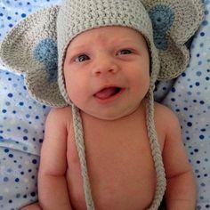 Elephant hat. So cute