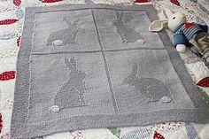 Bunny Blanket free pattern