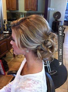 Purple hair / hair up / creative hair Up Hairstyles, Pretty Hairstyles, Wedding Hairstyles, Wedding Updo, Prom Updo, Bridesmaid Hairstyles, Wedding Bride, Style Hairstyle, Homecoming Updo Hairstyles