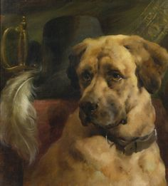 The Head of a Mastiff by Edwin Douglas on Curiator, the world's biggest collaborative art collection. Old Paintings, Animal Paintings, Oil Painting Gallery, Famous Dogs, Collaborative Art, Oil Painting Reproductions, Animals Images, Dog Portraits, Dog Art