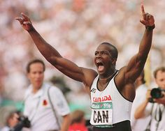 Donovan Bailey (born December 16, 1967) is a retired Canadian sprinter, who once held the world record for the 100 metres race following his gold medal performance in the 1996 Olympic Games. He was the first Canadian to legally break the 10-second barrier in the 100 m.