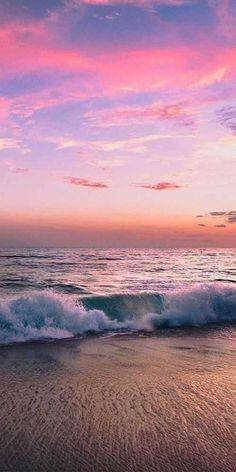 Wild adventure pink sunset beach day com 888