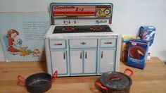 Dollhouse Kitchen Stove Combinette 3 in 1...SINK by ImagedeVintage