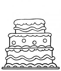 dessin gateau anniversaire