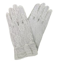 4 Pairs GIRL/'S WHITE DRESS GLOVES Fits Ages 2-4 Communion Party Toddler Nolan