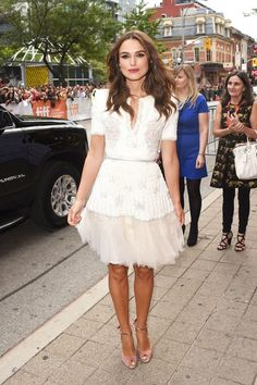 Keira Knightly in Chanel Haute Couture, Toronto Film Festival 2014