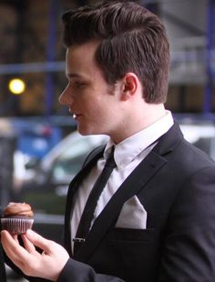 Beautiful Chris and Cupcakes!!