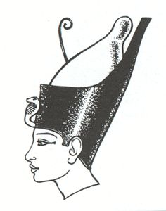 Pshent. The Double Crown, the red crown and the white crown put together to represent a unified Egypt. Although Egypt was not always a unified nation it was stronger that way.Therefore unification was desirable. Narmer (Menes), the founder of the First Dynasty around 3100 B.C., was the first man recorded wearing this crown.