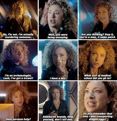 """River Song #DoctorWho Christmas Special """"The Husbands of River Song"""""""