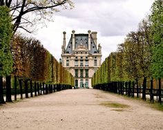 Paris Photography Print - Jardin des Tuileries. Paris photography featuring the Jardin des Tuileries, one of my favorite public gardens in Paris, located behind the Louvre. Elegant home decor. Print is horizontally oriented and is sold unframed and does not include mat. Available in a variety of standard sizes and finishes.