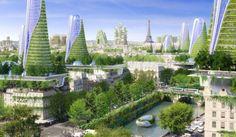 Top 10 des photos de Paris en 2050 par larchitecte Vincent Callebaut