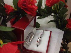 Argollas matrimonio plata 950