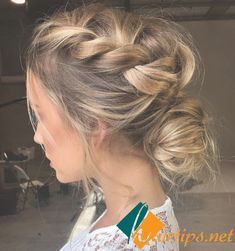 Who Said Only Long Blonde Hair Can Feature Elegant Hairstyles! Who Said only Long Blonde Hair can Feature Elegant Hairstyles! Who Said Only Long Blonde Hair Can Feature Elegant Hairstyles! Braided Hairstyles Tutorials, Fancy Hairstyles, Wedding Hairstyles, Blonde Hairstyles, Easy Elegant Hairstyles, Boho Updo Hairstyles, Bridesmaid Hair Bun, Brides Maid Hair, Wedding Inspiration