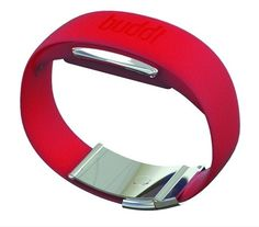 buddiband by Buddi and Sebastian Conran Associates. A wristband for dementia patients, which uses ID, personal monitoring and emergency alerts to help carers monitor well-being.