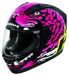 Icon Women's Alliance 'The Berserker' Full Face Motorcycle Helmet