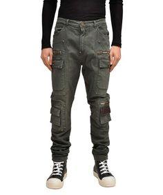 GAETANO NAVARRA  Multi pocket jeans  50% off    Luxury outlet online Men   Abiti, borse, scarpe, accessori   Lindelepalais.com