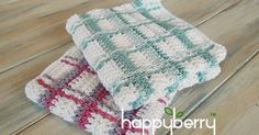 I do love designing wash cloths because they give you such a wonderful opportunity to test out new crochet stitches and patterns you haven'...