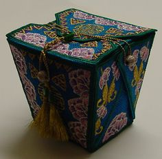 Fabric Chinese Takeout Box Tapestry - Textile by Shirley Heyn