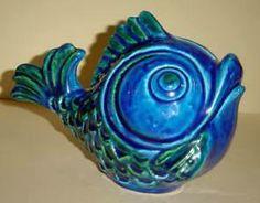 Fish Piggy Bank  Hand written: 9950/M 15 cm high