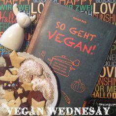 Das Türchen 12 unseres Vegan Wednesday Adventskalenders füllt Regina bei muc.veg mit 2 Büchern und leckeren selbstgemachten Keksen. Bis 19.12. könnt Ihr mitmachen!