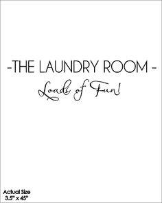 ¡Las cargas de lavandería sala de diversión!