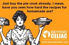 Just by the pie crust already. I mean, have you seen how hard the recipes for homemade are?