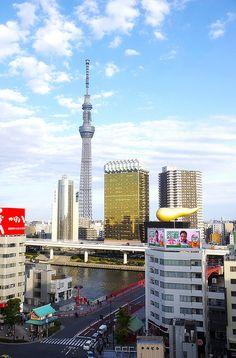 Sightseeing spot, Asakusa of Tokyo