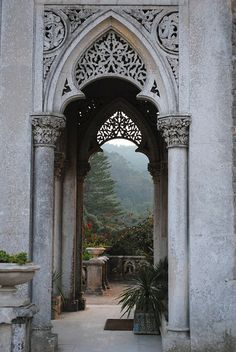 Outdoor Terrace in the Eyrie - Home of Thrones