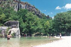 7) Frio River at Garner State Park (Concan) you can kayak, tube, or swim in it,