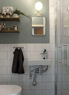 The white bathroom attracts with simplicity, purity and timeless elegance. If you are thinking of decorating your bathroom all in white. Laundry In Bathroom, Bathroom Inspo, White Bathroom, Modern Bathroom, Bathroom Ideas, Small Bathroom Inspiration, Bathroom Things, Rental Bathroom, Shower Ideas