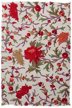 The Winter Celebration #Kashmiri Shawl with gorgeous #Kashida #Embroidery by The #Kashmir Company http://pinterest.com/kashmircompany/