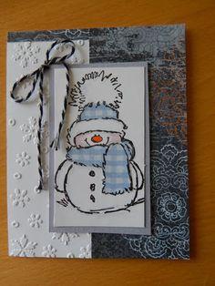 Dianne's cards- Penny Black stamp
