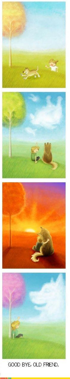 4koma comic strip - The Saddest Since Jurrasic Bark