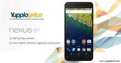 Nexus 6P   12.3 MP primary camera   5.7 inch touchscreen #googlenexus #nexus6P #onlinegooglenexus