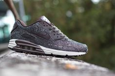 Nike Air Max Lunar90 Suit & Tie paisley velvelt brown-1