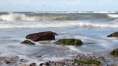 stones, seaweed and waves #BalticSea