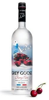 Grey Goose Cherry Noir! Won a free bottle at Suite last night! It was very smooth with the perfect amount of cherry flavor!