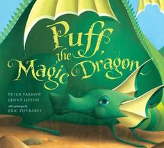 Puff, the Magic Dragon flies into a new dimension in this spectacular, deluxe pop-up book. Master paper engineer Bruce Foster, who created the bestselling Harry Potter pop-up, brings Peter Yarrow and Lenny Lipton's timeless song to life via nine lavish spreads, plus extra gatefold pops and enchanting special effects.