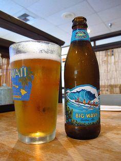 Big Wave Golden Ale by Kona Brewing Company in Kailua-Kona, Hawaii (Big Island)...   nate gray