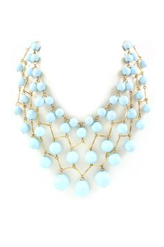 Sky Lattice Necklace on Emma Stine Limited - I like it but I don't have anything to wear it with....