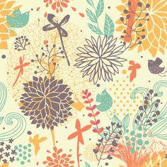 Fantastically Floral | Removable Wallpaper | WallsNeedLove