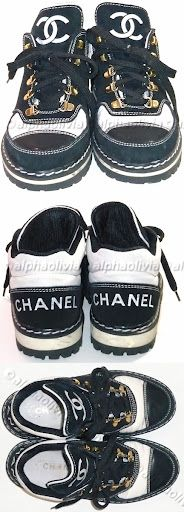 Vintage Chanel Sneakers -find them for me and give me a price I will love you forever! <3